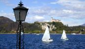 Sailing on the waters of Lake Maggiore